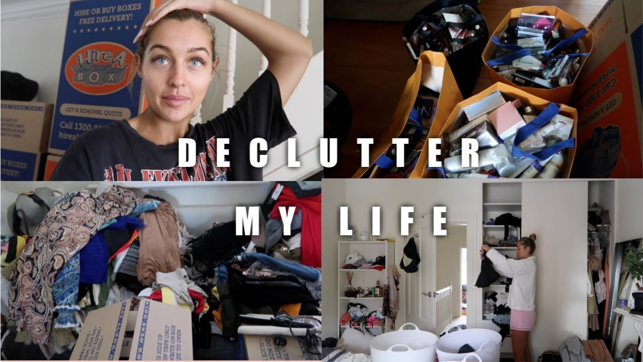 DECLUTTERING MY LIFE | Packing for the Move