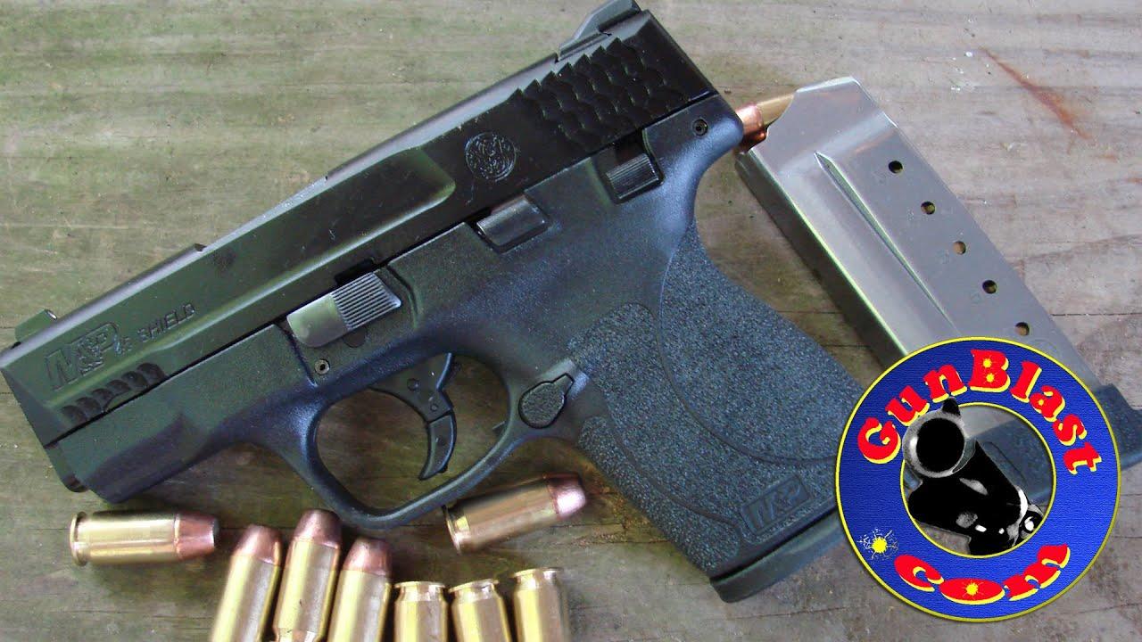 Shooting the Smith & Wesson M&P Shield 45 ACP Semi-Auto Pistol -  Gunblast com