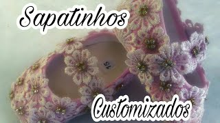 DIY – Como customizar Sapatinhos