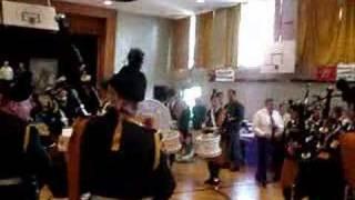 28th infantry bn irish army pipe band