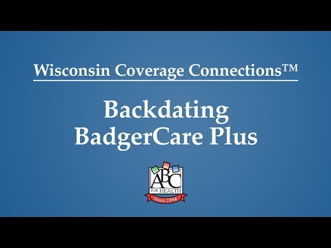 Backdating BadgerCare Plus