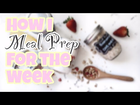 DIY   MEAL PREP BUAT 1 MINGGU!🍗 🥗🍓   Easy Meal Options♡