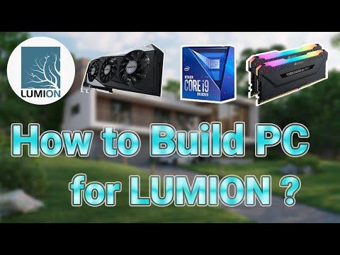 Hướng Dẫn Build PC Cho Người Dùng Lumion | Chọn CPU, Ram, VGA Sao Cho Phù Hợp ? | #PCDH09