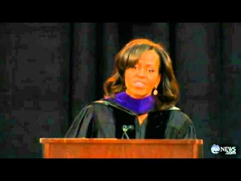 the theme of education in michelle obamas bowie state university commencement speech and mike roses  Attended by president barack obama at the bowie state university lightbox presents a series of images from 2012 that are joined in theme and in.