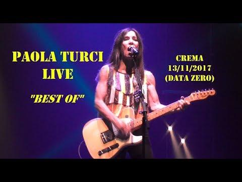 Paola Turci LIVE a Crema 13/11/2017 (data zero!) - Medley