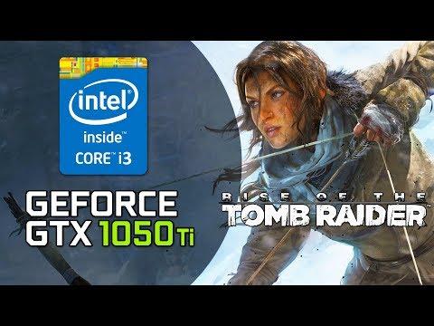 Rise of the Tomb Raider - GTX 1050 Ti - i3 3220 - 8GB RAM - 1080p - 900p GAMEPLAY [Very High]