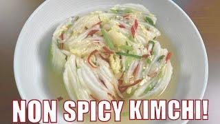 White Kimchi (백김치), Non Spicy …