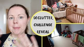 MAY DECLUTTER CHALLENGE REVEAL || BEFORE & AFTER || TODDLER ROOM