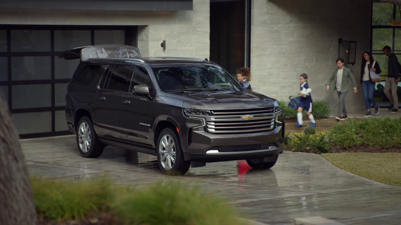All-New 2021 Suburban: Cargo | Chevrolet