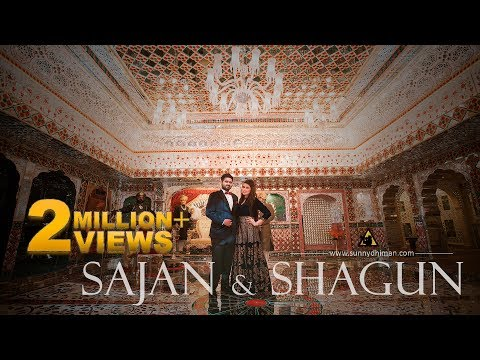 Best indian pre wedding | Sajan & Shagun | Tere sang yara | Rustam | Sunny dhiman | India