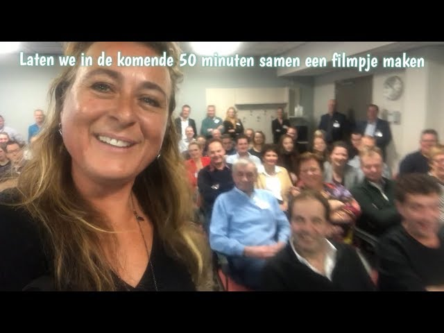 Smartphone Video Power Workshop tijdens Cumela Inspiratiedagen Congres - Egmond aan Zee