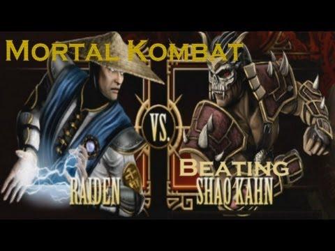 Mortal Kombat | Arcade Raiden - BEATING SHAO KAHN