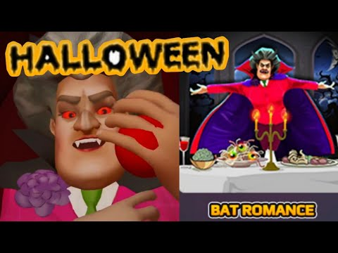 SCARY TEACHER 3D -Bat Romance -Spooktacular Halloween - New Chapter[Android - ios] Gameplay