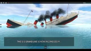 Roblox Ship Sinking (Split)