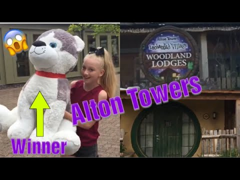 Alton Towers 🎢 Enchanted Village Hotel  Room Tour/  Rollercoaster Restaurant /  Big Dog  ❤️🐶