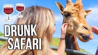 FEEDING ZOO ANIMALS WHILE DRUNK