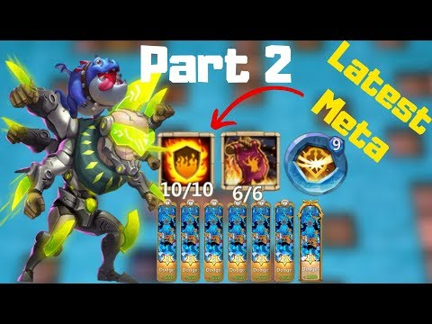 Latest Meta | Destroy Any Base | Asura | 10/10 Flame Guard | Castle Clash