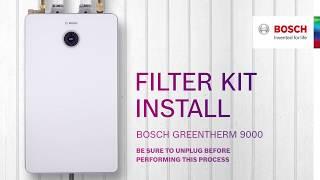 Bosch Greentherm 9000: Filter Kit Install
