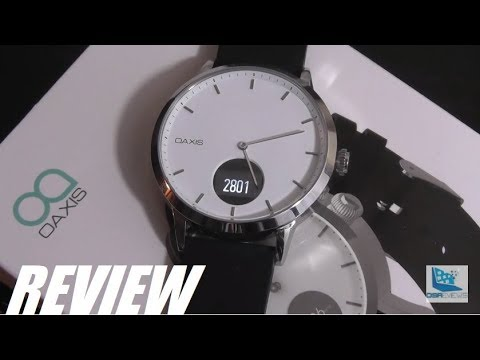c99ffec29 REVIEW: Oaxis Timepiece - Best Hybrid Smartwatch? - YouTube