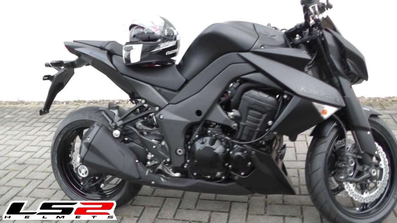 New Kawasaki Z800 2013 vs Kawasaki Z1000 2013 - YouTube