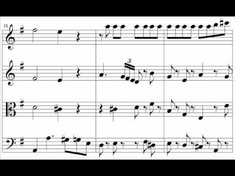 Mozart - Eine kleine nachtmusik - Allegro