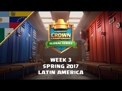 [ES] Clash Royale: Crown Championship Top 8 (LATAM, Week Three) - Crown Championship