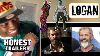 Honest Trailers - Logan (Feat. Deadpool) - 200th Episode REACTION!!!