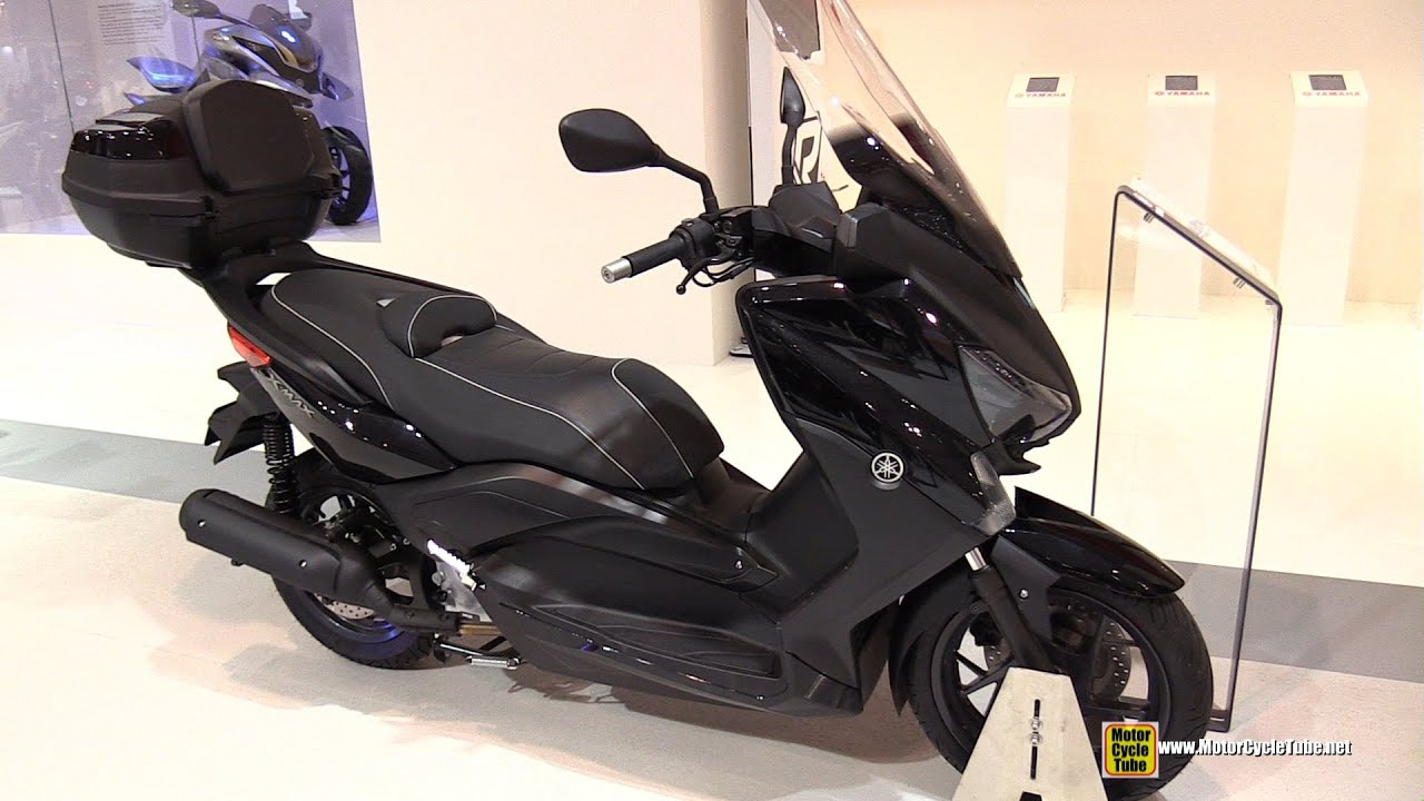 2015 yamaha x max 125 abs sport scooter walkaround. Black Bedroom Furniture Sets. Home Design Ideas