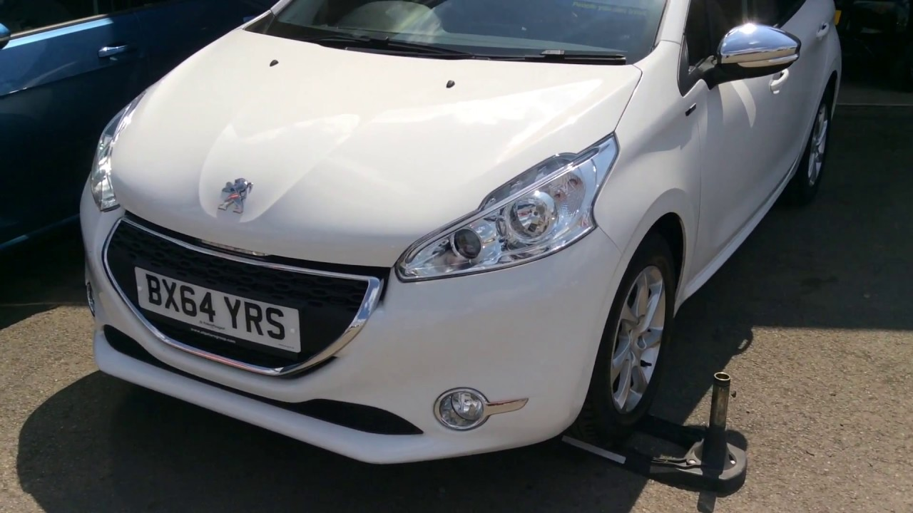 2014 Peugeot 208 1 2 Vti 82 Style Bx64 Yrs At St Peters Peugeot Worcester Youtube