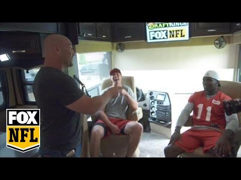 Julio Jones And Matt Ryan 1-on-1 With Jay Glazer - Web Exclusive