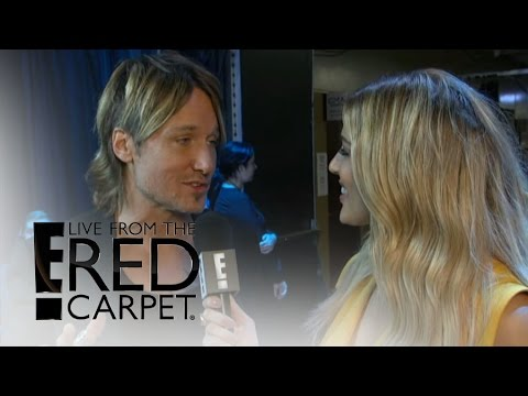 Keith Urban Spills on Musical Event of the Year Win | Live at the Red Carpet | E! News