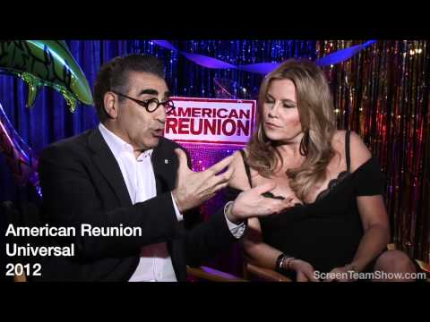 Eugene Levy & Jennifer Coolidge HD Interview - American Reunion