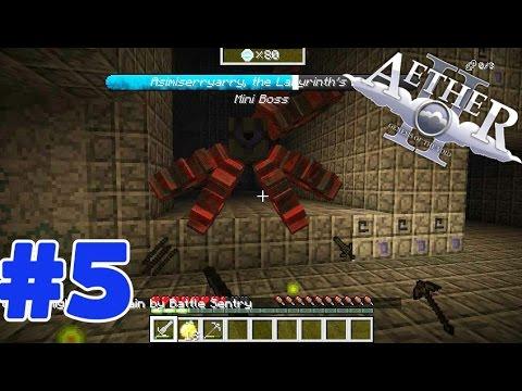 Minecraft Mod Aether II (มายคราฟ มอด สวรรค์) #5 ดันเจี้ยนและบอส !!