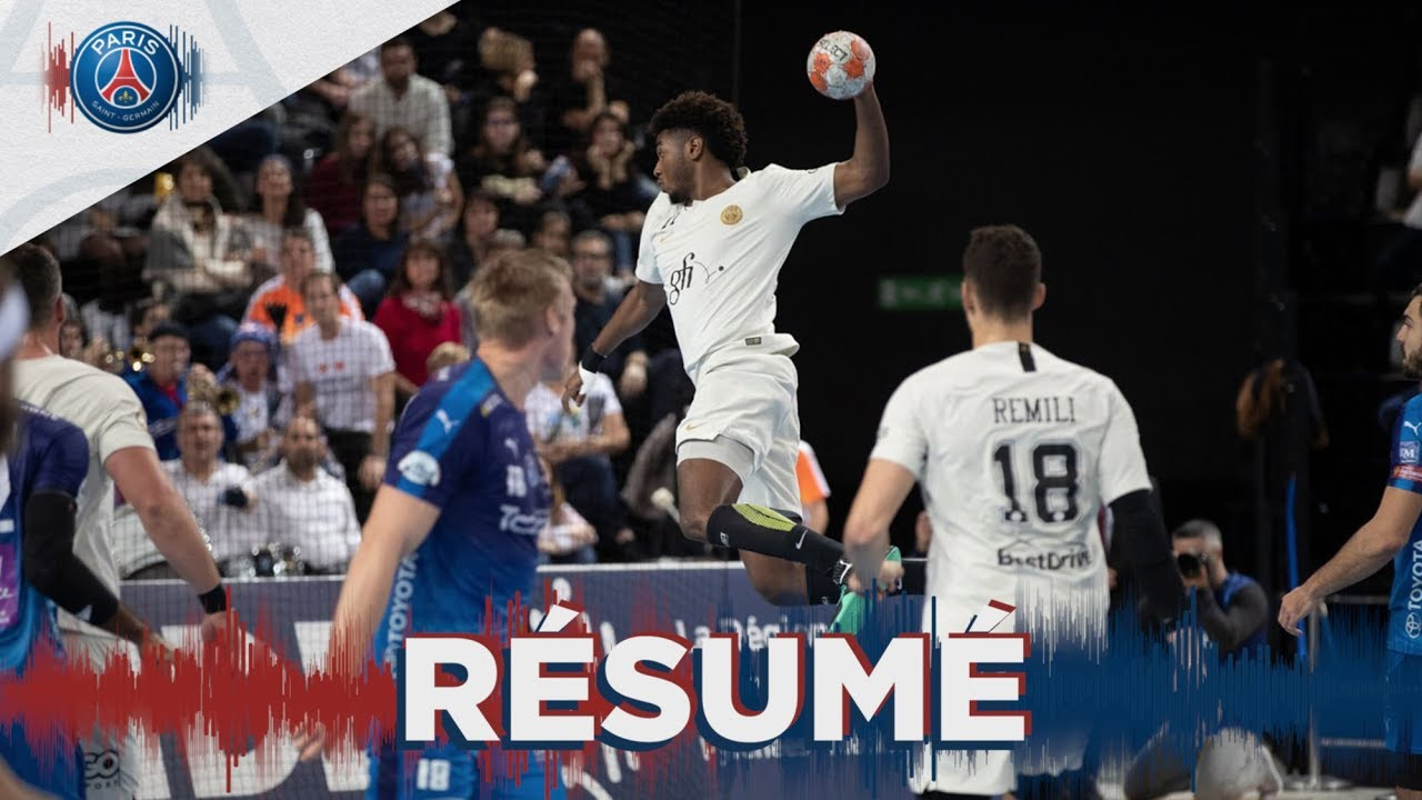 montpellier - psg handball   le r u00e9sum u00e9