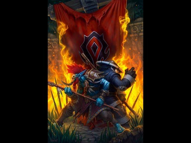 Убийство Вол`джина в Оргриммаре WoW 6.2.4(Смерть вождю)