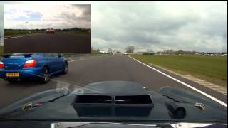 very fast v8 mg pcad combe 27th april 2013 lapping some quick cars