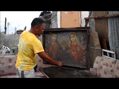 Philippines: à la recherche des disparus, 1 mois après Haiyan