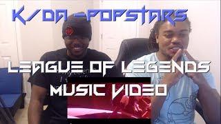 K/DA - POP/STARS: League of Legends Music Video Reaction