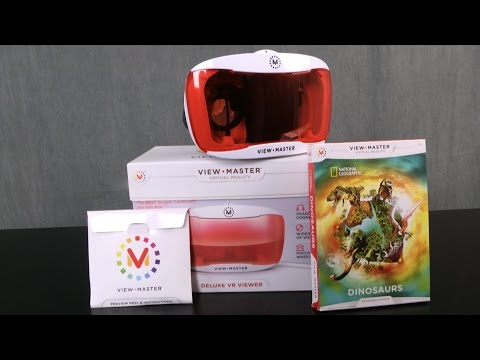 View-Master Deluxe VR Viewer & National Geographic Dinosaurs from Mattel
