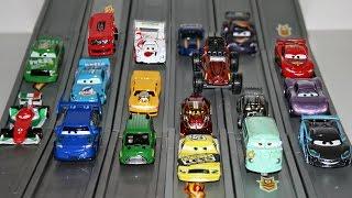 гоночные машины тачки 2 hot wheels stunt track driver disney cars 2 racing set lightning mcqueen