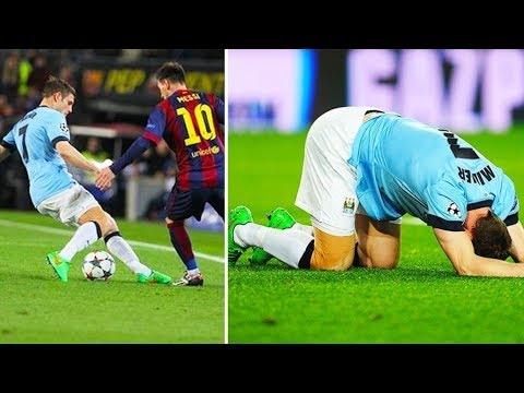 Messi Permalukan Pemain Bintang (Marcelo, Ronaldo, Boateng, Milner, Scholes, Roberto Carlos)
