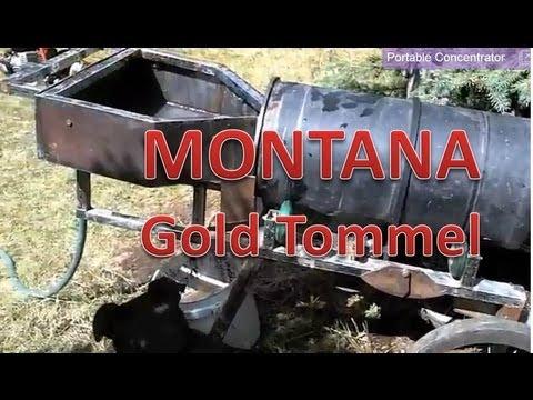 Montana Sapphire Claims: Gold Trommel