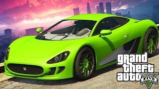 NEW GTA 5 DLC - NEW VEHICLE SPENDING SPREE! OCELOT XA21!