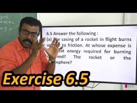 Physics Class 11 NCERT Solutions Ex 6.5 Chapter 6 Work Energy And Power
