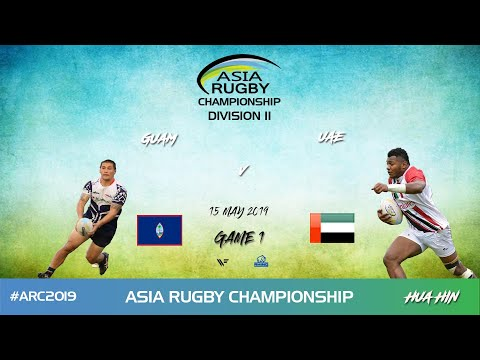 Asia Rugby Championship Div 2  Live Guam V UAE