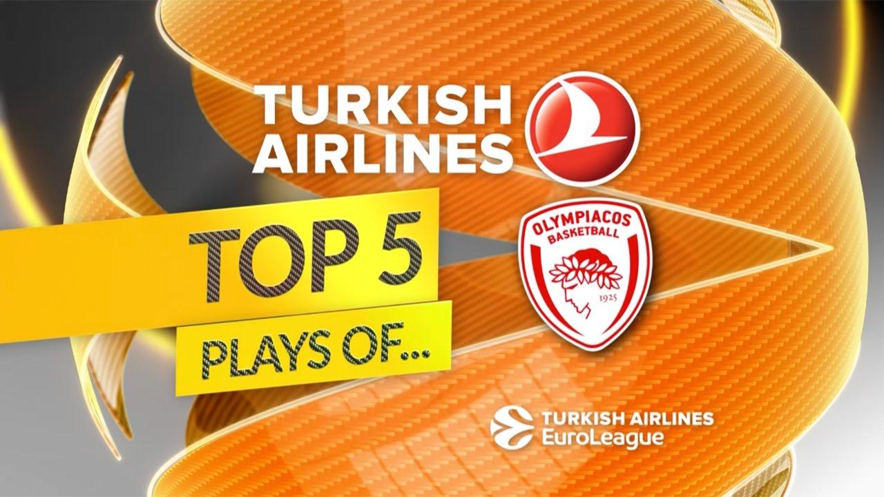 Olympiakos'un bu sezonki en iyi 5 oyunu Videosu