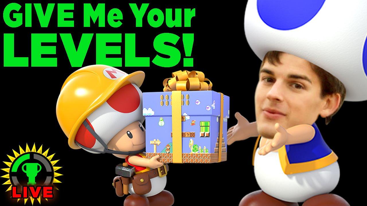 GT Live: MatPat Spotlights YOUR Mario Maker Levels! - GT Live: MatPat Spotlights YOUR Mario Maker Levels!