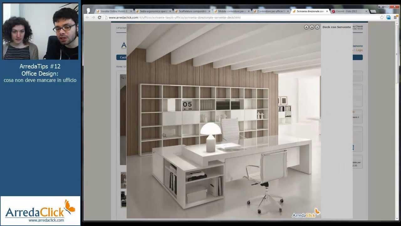 Arredo Ufficio cosa non deve mancare in un ufficio moderno  ArredaTips11  YouTube