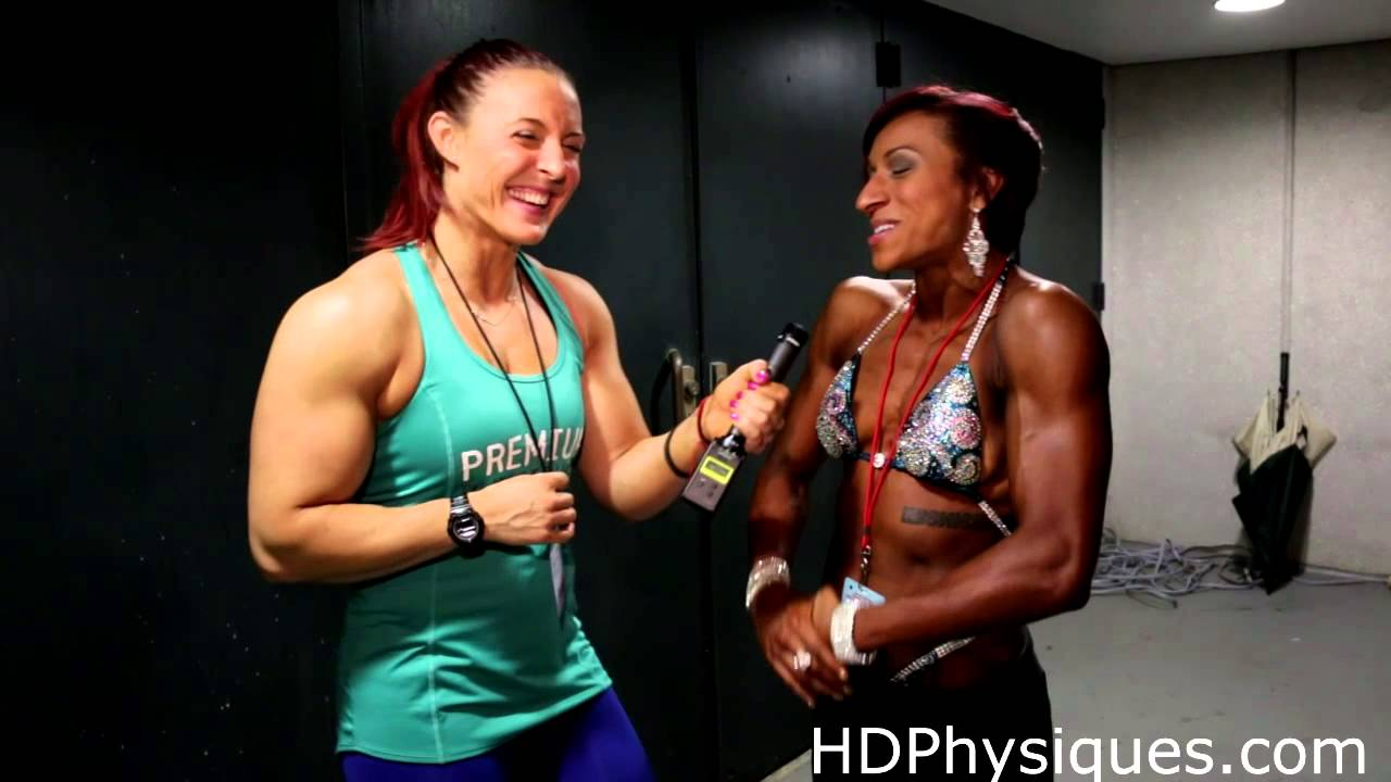 Physique Girls Chat at Nationals