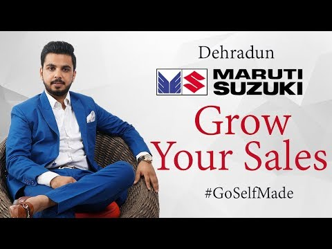 Grow Your Sales - Maruti Suzuki